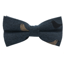 Fashion New factory cotton printing bow tie Flesse filling for kids