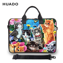 Cartoon Shoulder laptop bag 10''11''12''13''14''15''17'' inch net book handle sleeve case notebook smart cover for Lady Girl