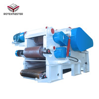 Power Station Using Heavy Duty Wood Chipper Mulch Machine For Sale
