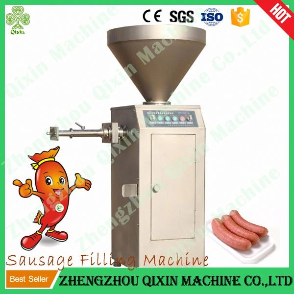 meat sausage stuffer/industrial sausage machine/electric sausage meat extruder