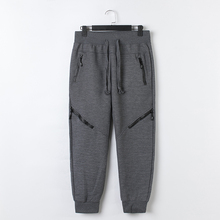 Cotton Polyester Sport Tapered Mens Jogger Sweat Pants
