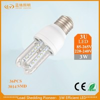 new products on china market Most popular design 3W led corn light for street lighting