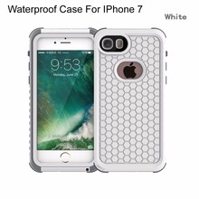 Latest High Quality waterproof shockproof case cover for iphone 7