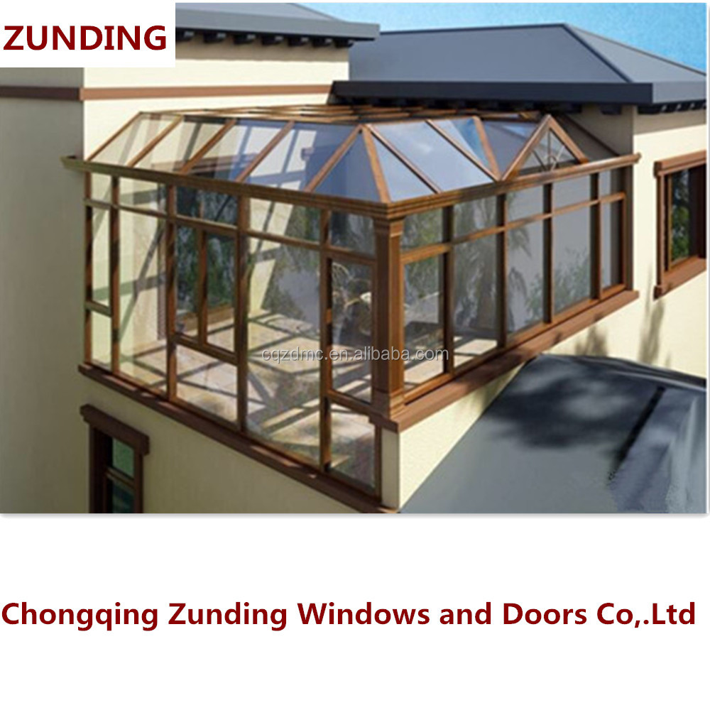 Hot China Factory Hot Sale Portable Sun Rooms/Green House/Winter Garden