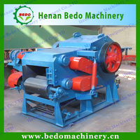BEDO factory price mobile industrial drum wood chipper shredder machine made in china for sale