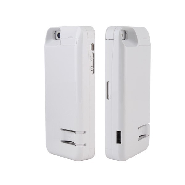 4200mAh with wall plug Rechargeable External Battery Backup Charger Case Pack Power Bank for iPhone 5 5s 5c
