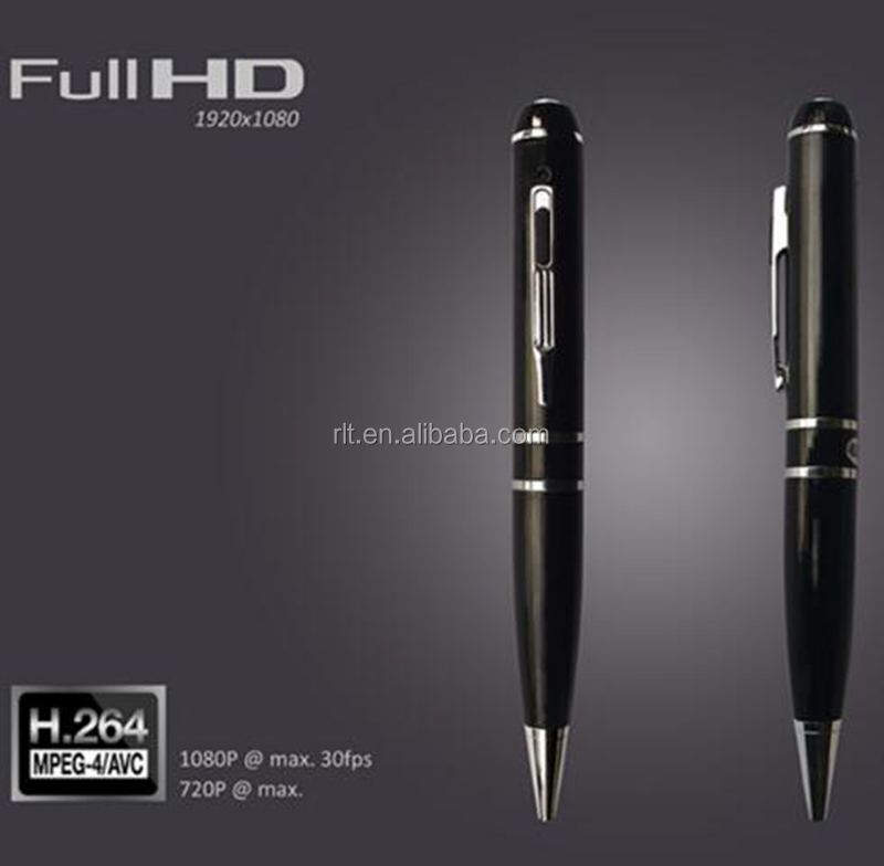 Cheapest Full HD Hidden Spy Pen Camera Wifi Pen With Memory H.264 1080P Pen Camera
