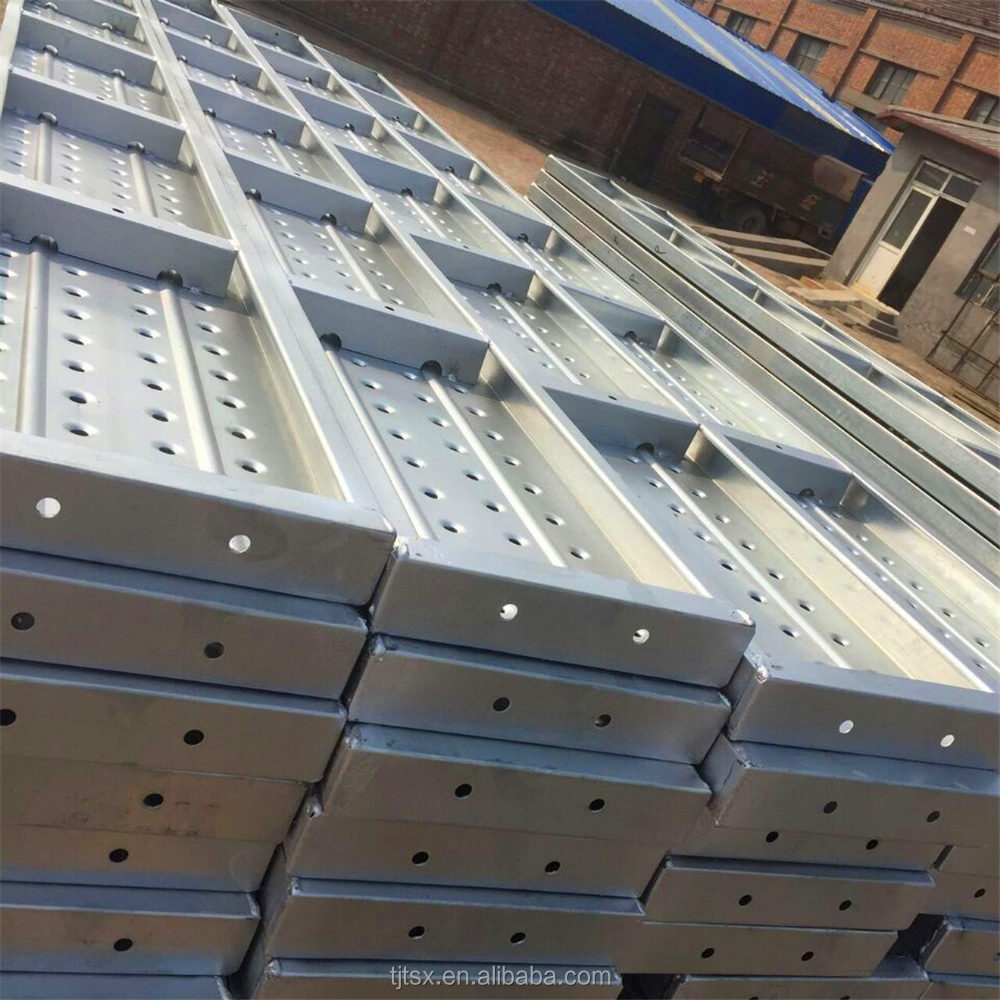 TSX-SP20070 welding materials high quality metal scaffold plank for construction building