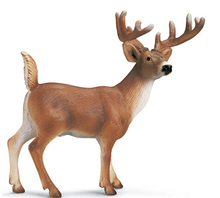 oem bulk plastic deer toy/mini plastic deer toys/small deer plastic toy