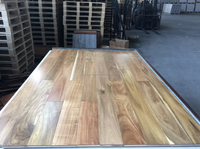 Natural color China walnut/small leaf acacia engieered wood flooring