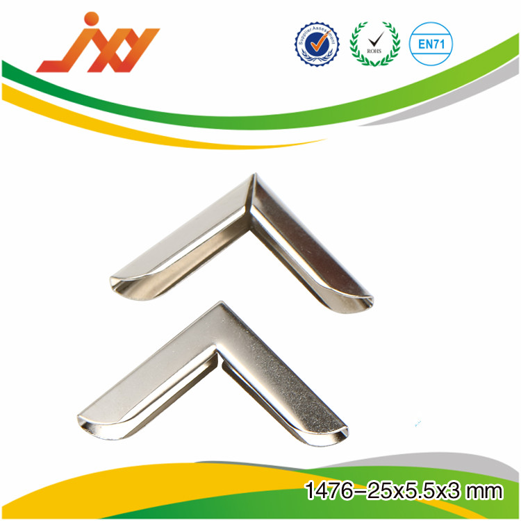 Factory supply metal corner for wooden box, box protective corner, metal corner