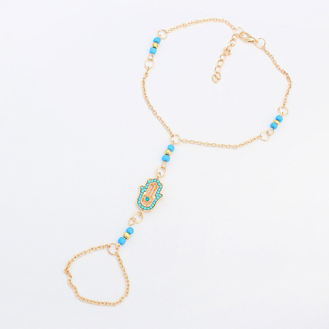 Popular European and American Fashion Mini Palm Anklet For Beautiful Girl