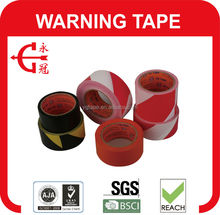 Black & Yellow Striped Hazard Warning PVC Floor Line Marking Tape 50mm x 33m
