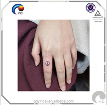 Temporary Latest Design fresh CMYK body tattoo apply to human with eco-friendly