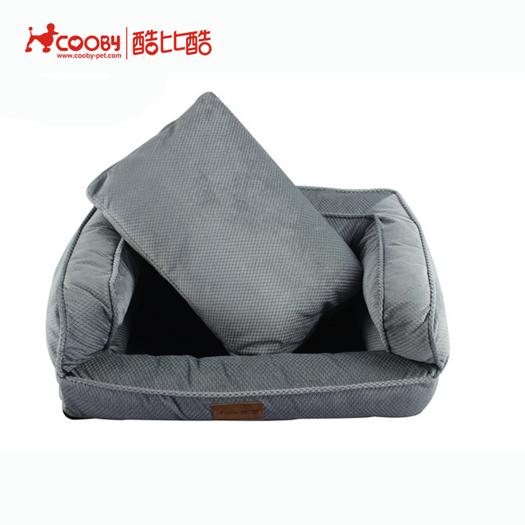 High quality factory supply wholesale soft various sizes private label dog bed eco friendly