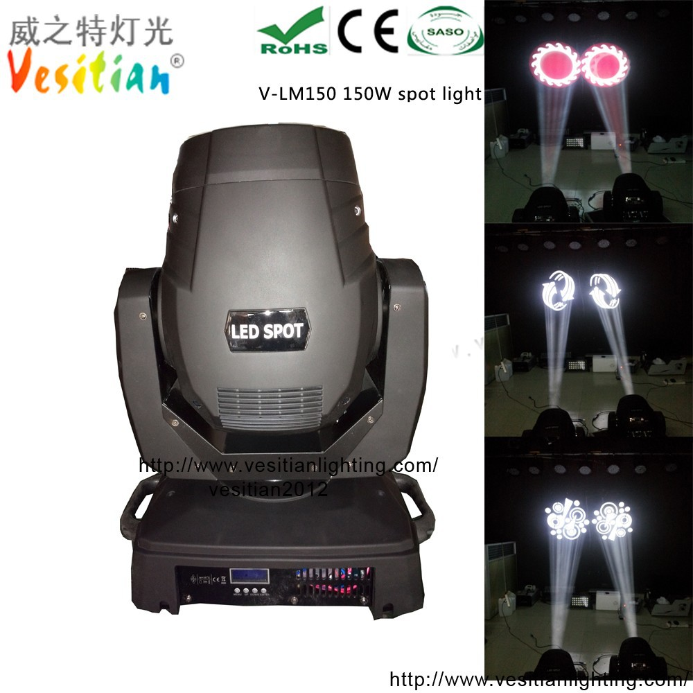 2015 new disco 150w moving head disco light spot 150w led zoom 3in1