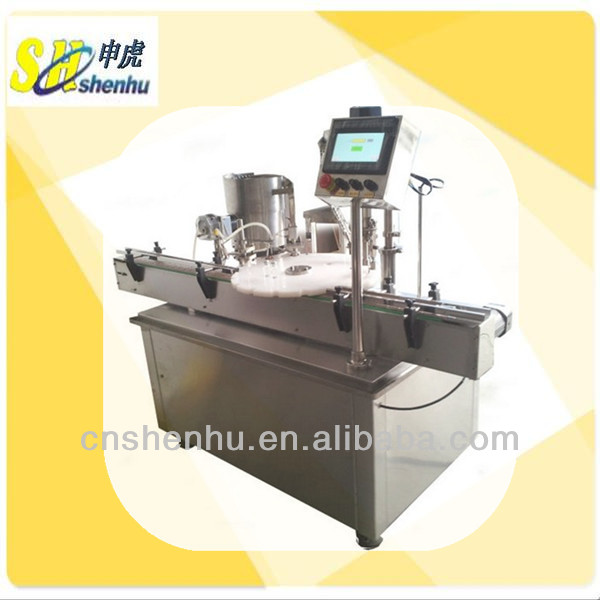 Automatic Small Dose Cough Syrup Filling and Capping Machinery