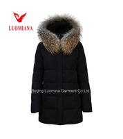 2016 trendy women winter clothing with fur jackets