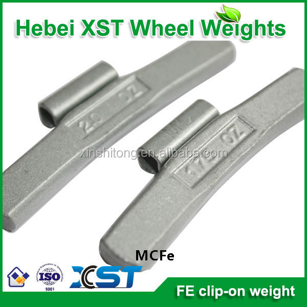 oz steel wheel weight/aluminum wheel