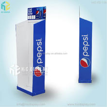 China factory good price cardboard display for pepsi cola