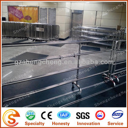 Galvanized used corral panels for horse(made in guangzhou)