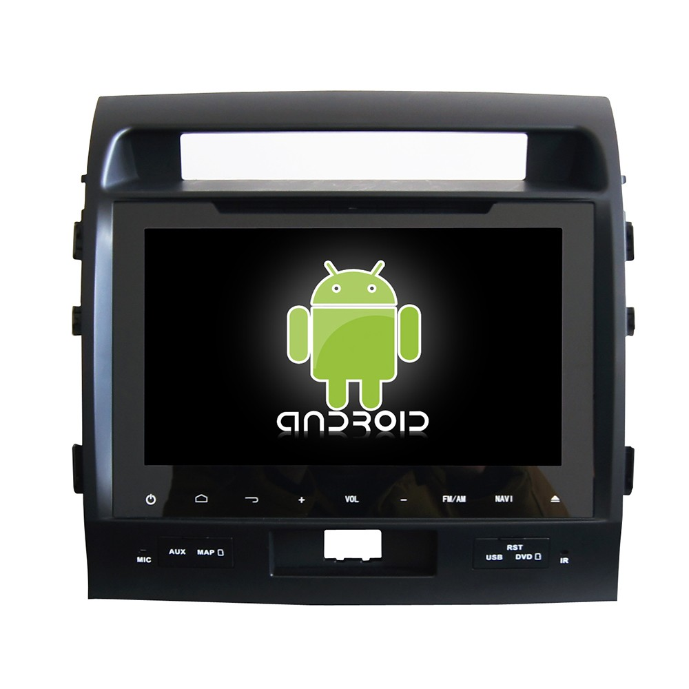 Android 4.4 car navigation system for toyota land cruiser 200 dvd gps multimedia player car radio tv dvd