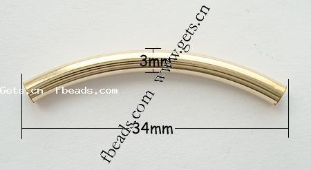 Gold Filled Tube Gold Filled European Charm 229457