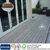 Hot sale wood plastic exterior floor tile, wooden floor tiles, outdoor floor tiles