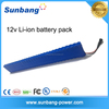 18650 lithium ion battery 12v li-ion battery pack customized capacity 12v battery with Cheap pirce