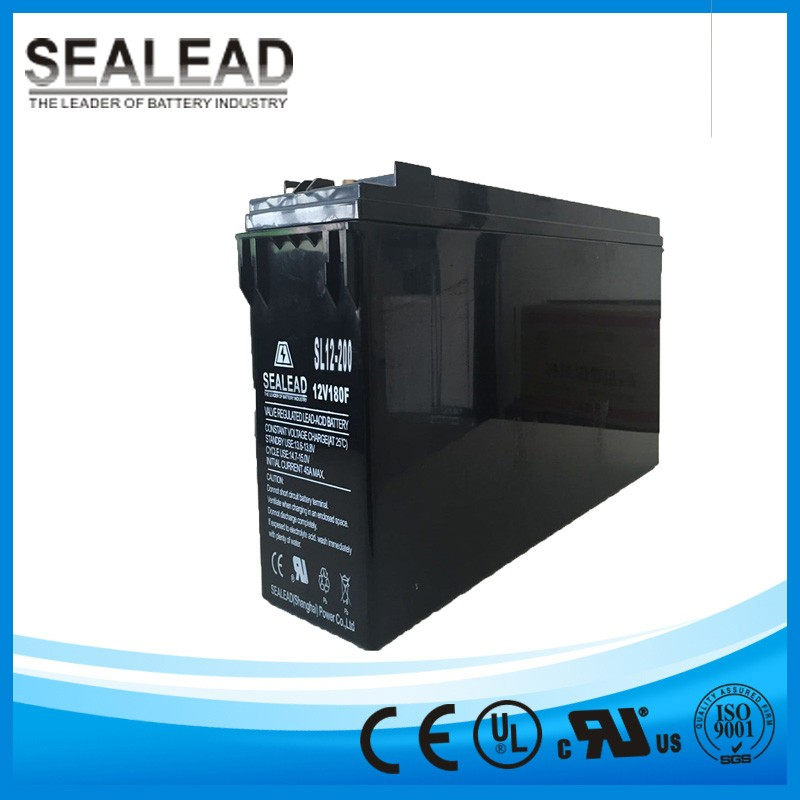 off grid solar panel generator 12v 200ah maintenance free type power storage gel battery for house use