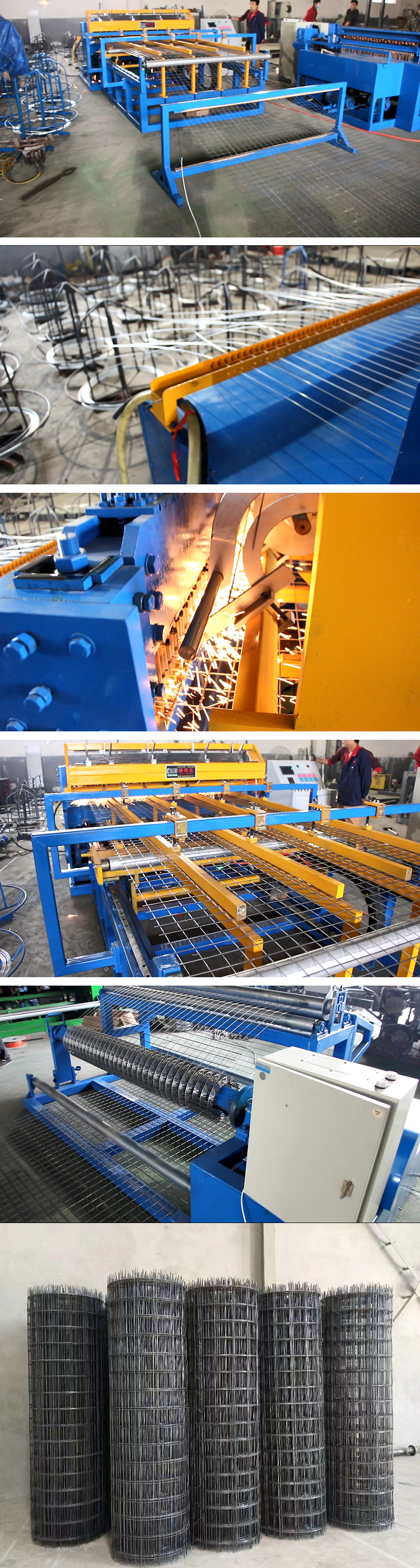 Welded Wire Mesh Machine for Roll Type