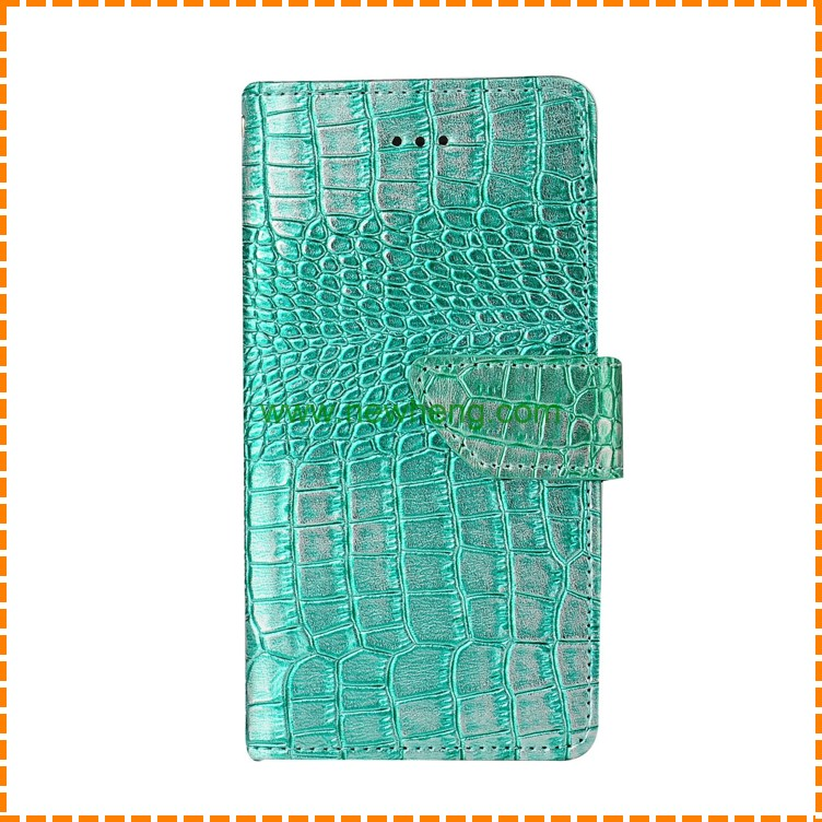 Crocodile PU Leather Stand Flip Wallet Case For iPhone 7 Plus