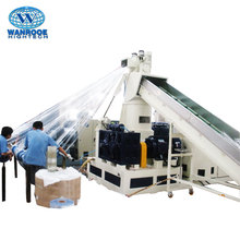PNHS Single Screw PP PE Film Recycling Granulator Machine Plastic Pelletizer