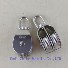 Top Quality Good Price Stainless Steel Pulley and Block