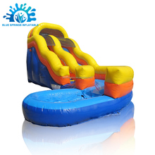 High Quality Outdoor Inflatable Toys, Water Slide Inflatable