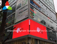 P10 SMD waterproof cost effective full color outdoor digital advertising led sign board