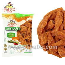 Dried seafood - Crispy Seasoned Fish Snack (Thai Spicy Flavor)
