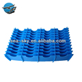 Wholesale china factory all size tray corrugated plate honeycomb pp plastic divider clapboard for storage box inner
