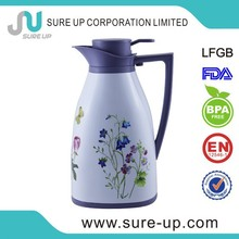 Attractive pattern glass jug with tap(JGHH)