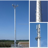 Steel Free Stand Antenna Mast Telecommunication