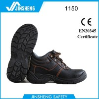 Czech Anti sweat China supplier buffalo leather safety shoe