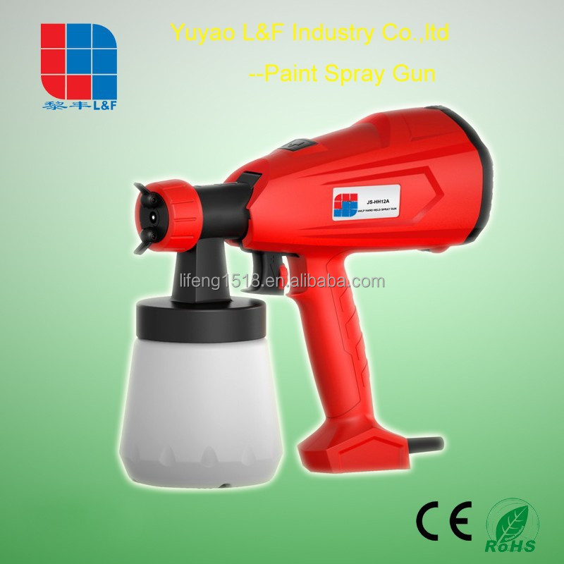 popular in Germany 260W electric air paint water,oil spray gun LF-JS1212