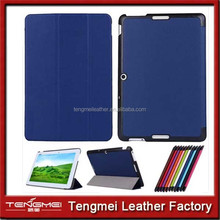 phone case for asus MeMO Pad 10 ME103K Tablet Tri-Fold Ultra Slim pu Leather Case Cover