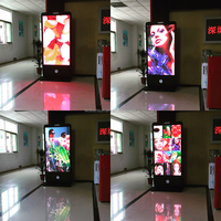 Phone type HD P2mm billboard led scrolling poster display Full color and Low Price