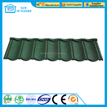 Stone coated galvanized roofing sheet/metal roofing tiles price