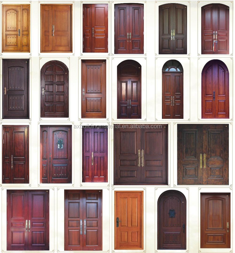 Spanish Design Wood Door
