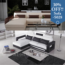 china cheap small corner l shaped leather sofa set price in india