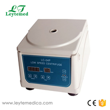 LC-04P Cheap price LED display desktop PRP/PPP centrifuge with microprocessor control