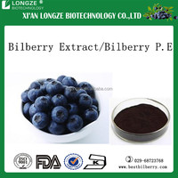 Wild blueberry extract/blueberry anthocyanin for health care anti oxigen