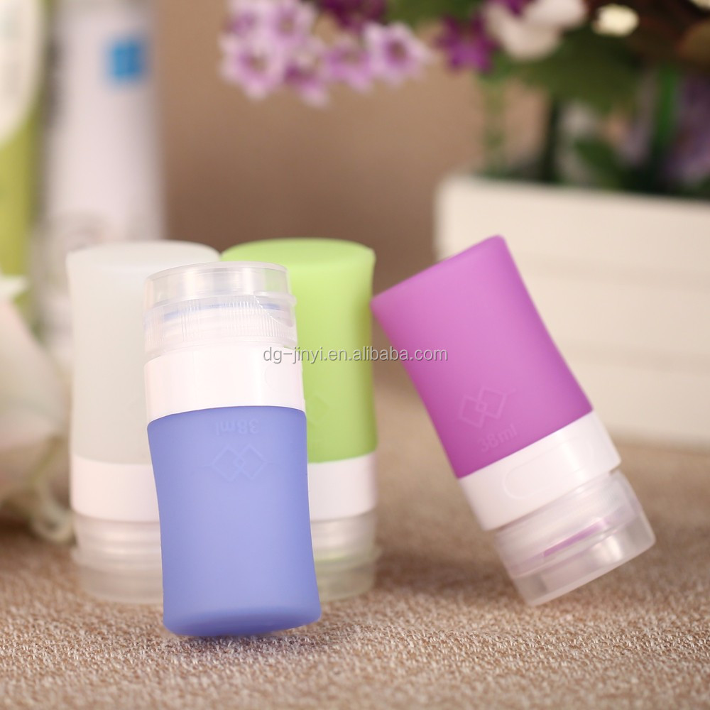 Top sale custom silicone squeeze bottle honey squeeze bottle